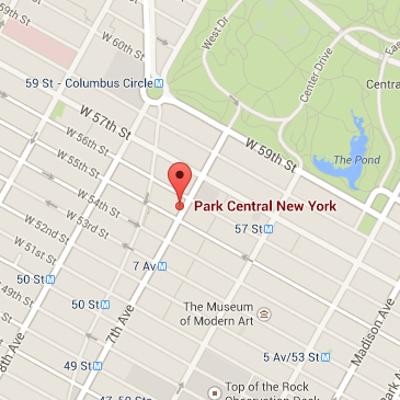 Park Central Hotel Phone Number